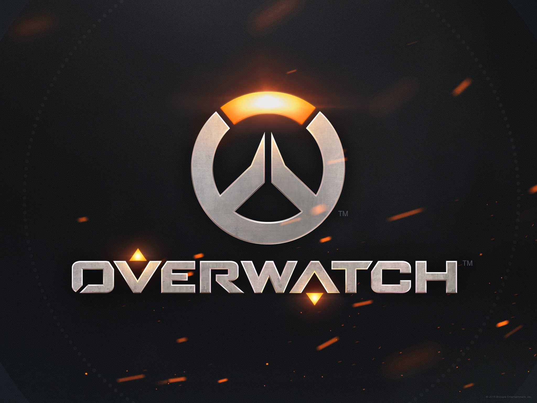 Standardní tapeta ke hře Overwatch